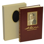A.W. Tillinghast Creator of Golf Courses Special Edition Book 728/3000 Author Signed w/ Slipcase