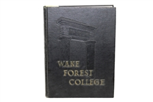 1954 Wake Forest College Yearbook - Arnold Palmers Final Year