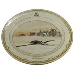 St Andrews Millenium Collection Plate by Bill Waugh - Aynsley Fine Bone China /2000