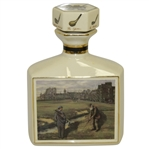 St Andrews The Old Course Porcelain Artist Proof Decanter by Bill Waugh - The Clubhouse Collections