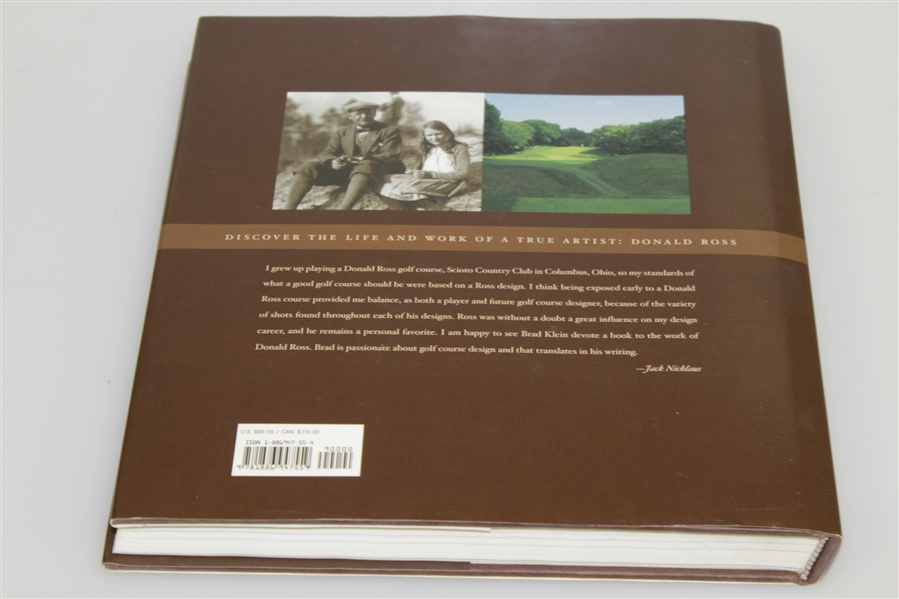 'Discovering Donald Ross' - The Architect & His Golf Courses by Bradley S. Klein Book