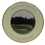 Pine Valley Golf Club John Arthur Brown Trophy Lenox Plate - Featuring 4th Hole