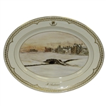 St Andrews Millenium Collection Platter by Bill Waugh - Aynsley Fine Bone China 46/2000