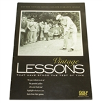 Vintage Lessons That Have Stood the Test of Time Publication - Hogan, Jones, Sarazen Etc.