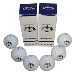 2008 Ryder Cup at Valhalla Callaway TourIX Logo Balls - Pair of Sleeves