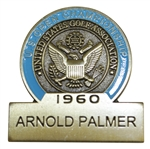 Arnold Palmer 1960 US Open Commemorative Contestant Badge - 2017 US Open Limited!
