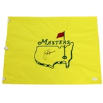 Jack Nicklaus Signed Undated Masters Embroidered Flag JSA #Z27396