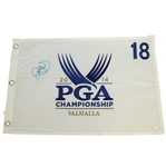 Rory McIlroy Signed 2014 PGA Championship at Valhalla Embroidered Flag JSA #L57662