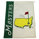 Bubba Watson Signed Undated Masters Garden Flag JSA Full Letter #AB10027