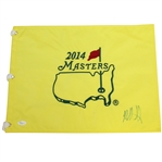 Bubba Watson Signed 2014 Masters Embroidered Flag JSA #P4469