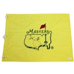 Adam Scott Signed Undated Masters Embroidered Flag JSA #M35272