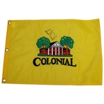 Annika Soernstam Signed Colonial Country Club Flag JSA ALOA