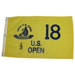 Ernie Els Signed 1994 US Open Championship at Oakmont Flag JSA ALOA