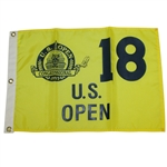 Ernie Els Signed 1997 US Open at Congressional Country Club Flag JSA ALOA