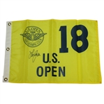 Lee Janzen Signed 1998 US Open at The Olympic Club JSA ALOA