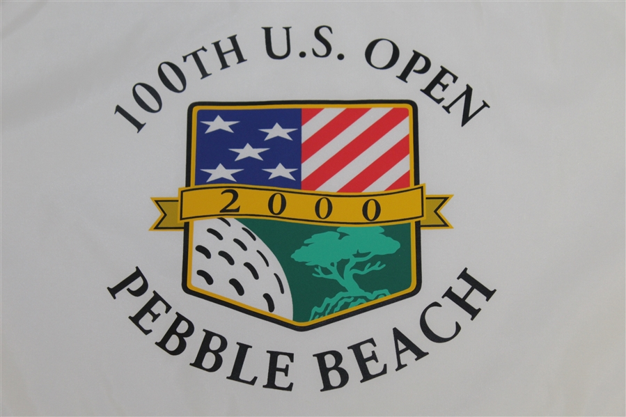 2000 US Open at Pebble Beach Flag - 1st Leg of Tiger Slam