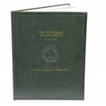 2010 Memorial Tournament Book Honoring Seve Ballesteros #168/250 by John Huggan & Invitation