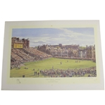 The Final Green Open Championship at St Andrews Print 35/400 Signed by Artist Arthur Weaver