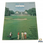 1962 US Open at Oakmont Country Club Program - Jack Nicklaus First PGA Win