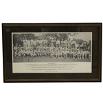 1935 Augusta Invitational Tournament (Masters) Field Photo - Framed