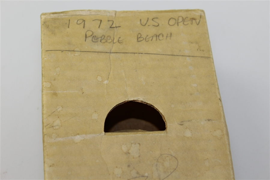 Jack Nicklaus & Arnold Palmer Field Signed '1972 US Open Pebble Beach' Periscope w/ Tickets, Badge & Tag JSA ALOA