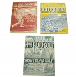 Spalding Publications Grouping Circa 1910s - 1920s - Bobby Jones