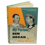 Ben Hogan Signed My Partner, Ben Hogan by Jimmy Demaret Book JSA ALOA