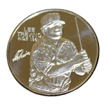 Lee Trevino World Golf Hall of Fame .999 Silver Coin / Medallion