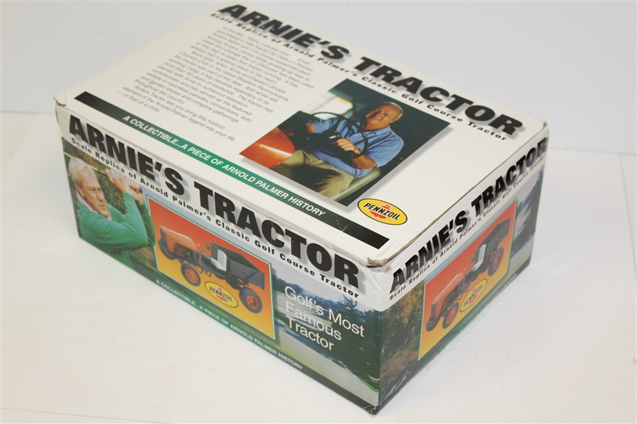 Arnold Palmer Signed Pennzoil 'Arnie's Tractor' - with Original Box JSA #Z91300