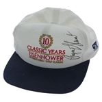 Payne Stewart Signed Eisenhower Golf Classic 10 Year Commemorative Hat JSA #EE96321