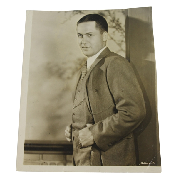 1932 Bobby Jones in Suit Wire Photo