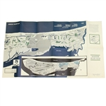 Early Kiawah Island Master Plan Foldout Double-Sided Map