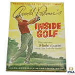 1961 Arnold Palmers Inside Golf 9-Hole Course Game in Original Box