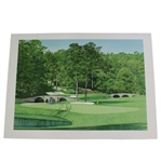 Ray Floyd Signed Ltd Ed The 11th at Augusta Helen Rundell #4/500 Print JSA #EE96292