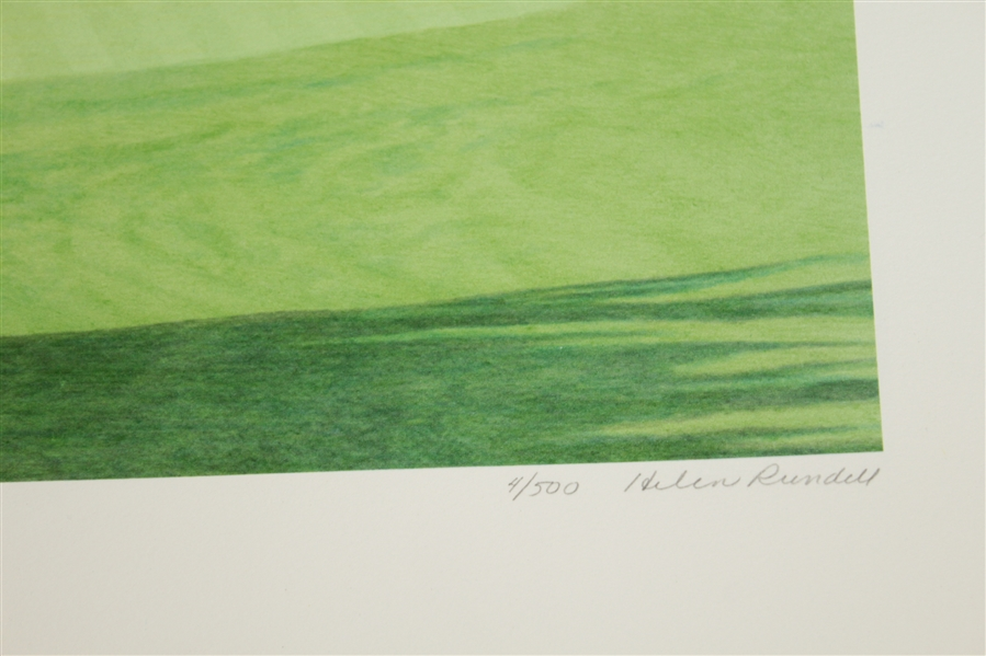 Ray Floyd Signed Ltd Ed 'The 11th at Augusta' Helen Rundell #4/500 Print JSA #EE96292