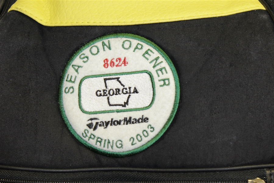 Doug Ford TaylorMade 'Season Opener' Green/Yellow Golf Bag - First Year Made for Masters