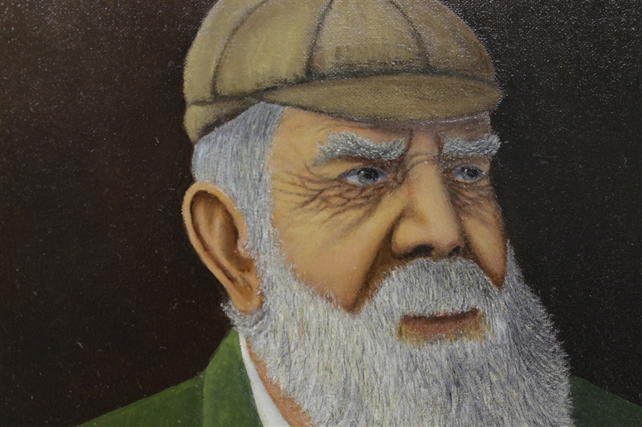 Old Tom Morris Original Painting By Bill Waugh
