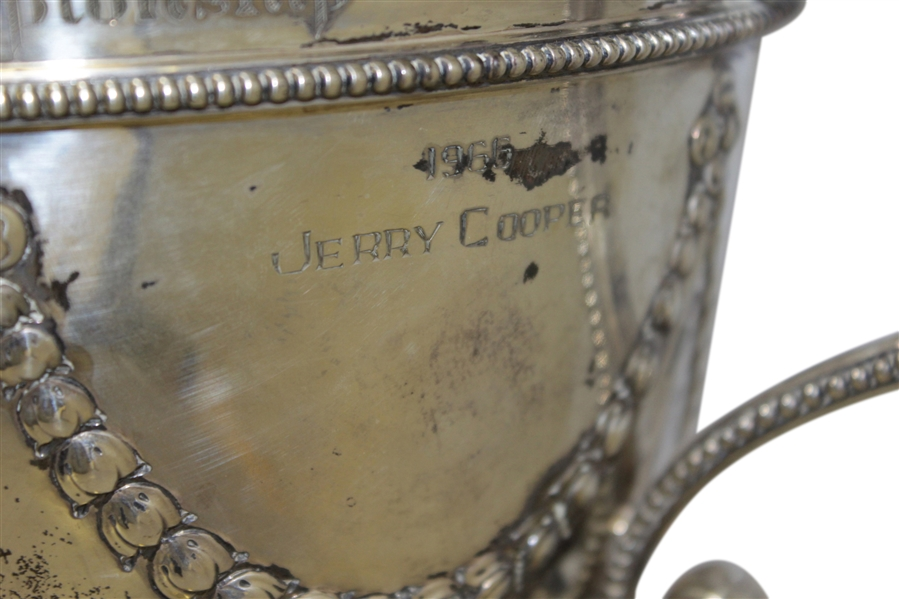 1960's EZ Go PGA National Golf Club Match Play Championship Silver Loving Cup Trophy