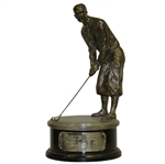 Bobby Jones Award Trophy Commemorating Inaugural 1934 Masters
