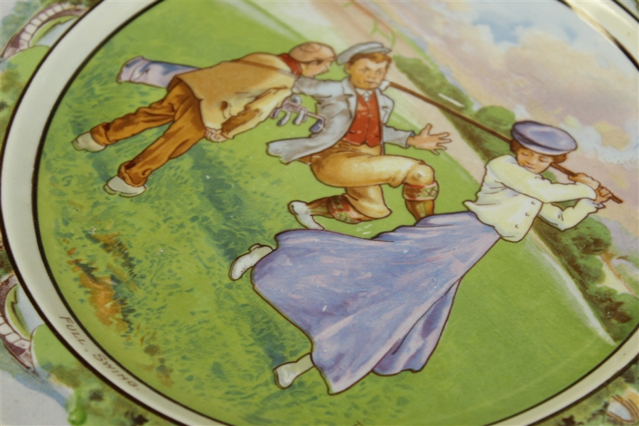 Bridgwood & So. 'Full Swing' English Plate