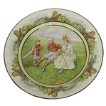 Bridgwood & So. The Indispensable Caddie English Plate