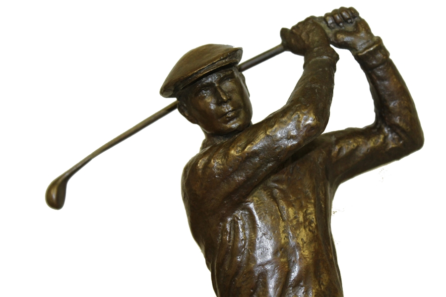 Horton Smith's 1960 Ben Hogan GWAA Comeback Player of the Year Trophy by Henry Vanwa