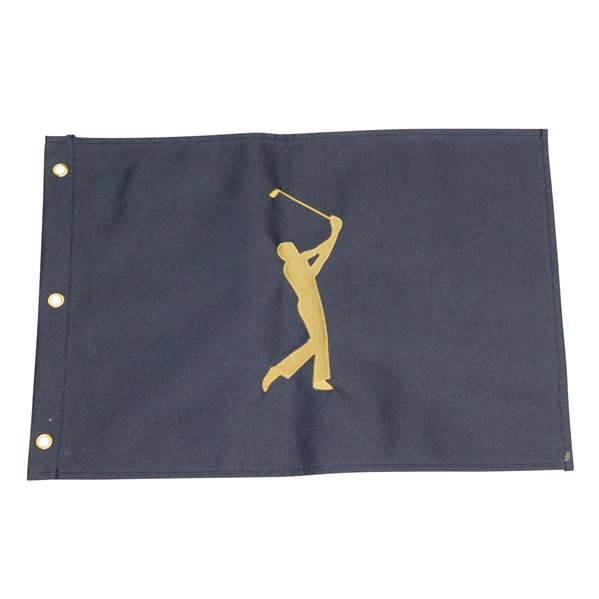Players Championship Embroidered Flag - Undated Royal Blue Version