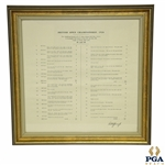 Bobby Jones 1926 Open Championship Qualifying Rounds Shot Depiction Presentation - Sunningdale Old Course