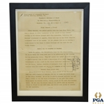 1940 PGA Championship at Hershey CC Thumbnail Sketches of Stars Original Press Release - Demaret, Dudley & Guldahl Content