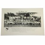 """1934"" First Masters Acushnet Augusta Invitational Field Photo - Reproduction"