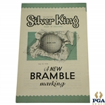 Silver King Bramble Color Golf Ball Brochure Advertisement