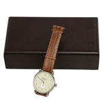 Bobby Jones Presidents Cup Stainless Steel Watch in Wooden Presentation Box