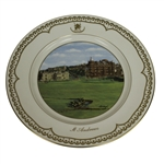 Limited Edition St. Andrews Porcelain Plate by Bill Waugh