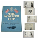 1959 The Walker Cup at Muirfield Program Signed by Team Including Nicklaus JSA ALOA
